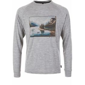 Pally'Hi Canoe and View Maglietta a maniche lunghe Uomo grigio